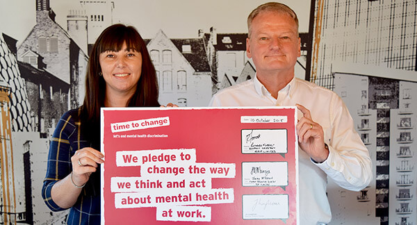 SSP sign the pledge to change how we all think and act about mental health