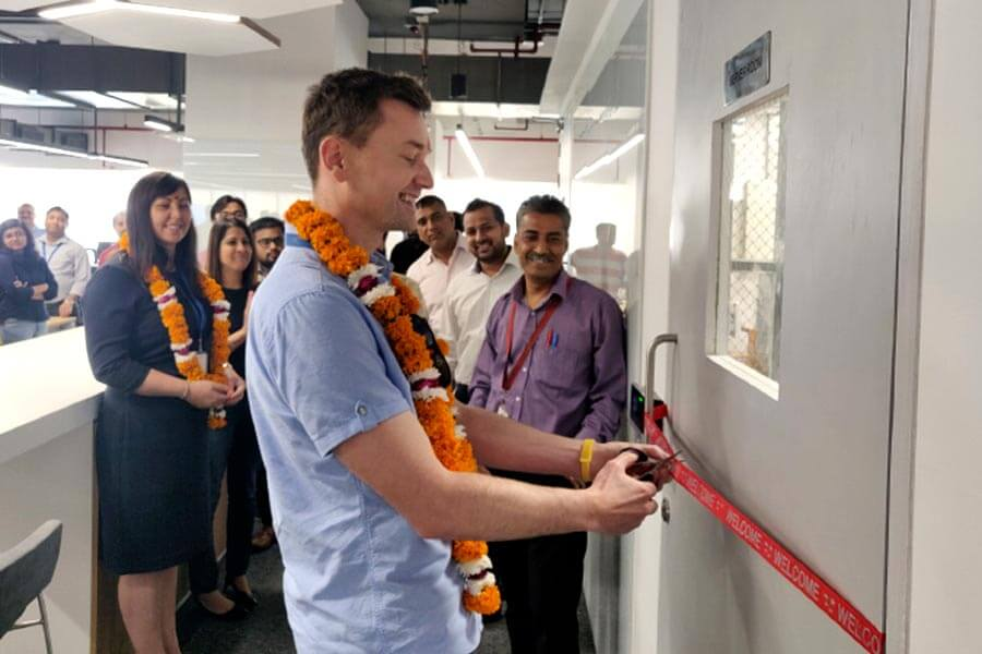 New India office opening