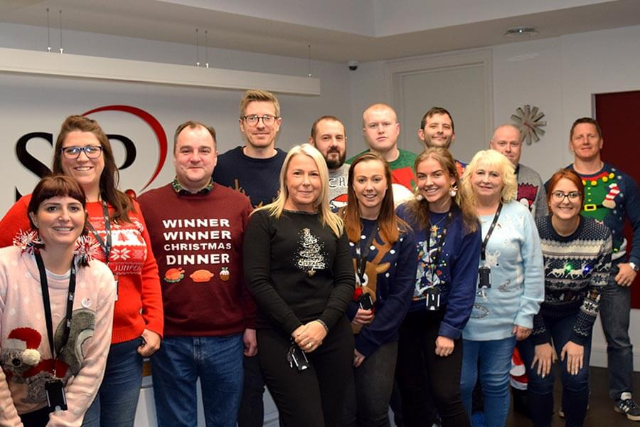Christmas Jumper Day 2019 - SSP Solihull