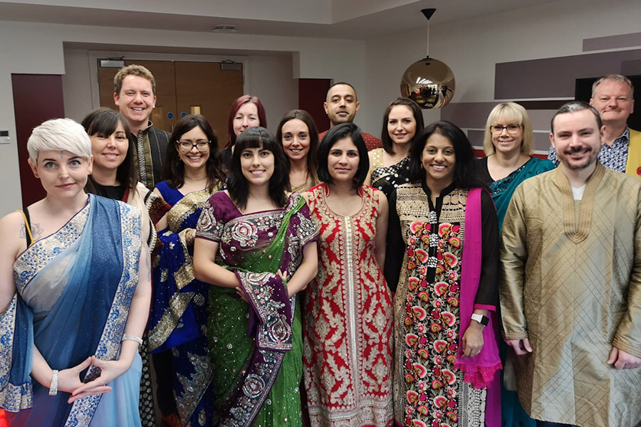 Diwali celebrations in Solihull