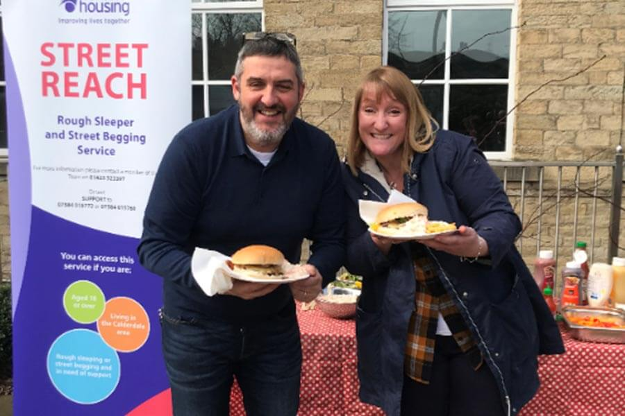 Fundraising for Street Reach